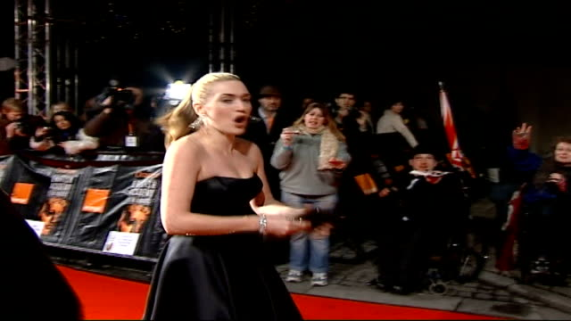 Calls for clampdown in agents' exploitation of wannabe stars TX 1122007 London Kate Winslet on red carpet as arrives for BAFTA awards ceremony DATE...