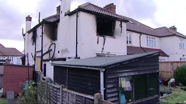 calls for database on product recalls for dangerous faults with electrical goods t26091142 / neasden fire damaged house and back garden blackened... - window frame stock videos and b-roll footage