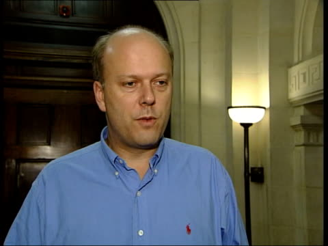 calls for david blunkett to resign; london: int chris grayling mp interview sot - untoward, not normal, there needs to be a proper independent... - david blunkett stock videos & royalty-free footage
