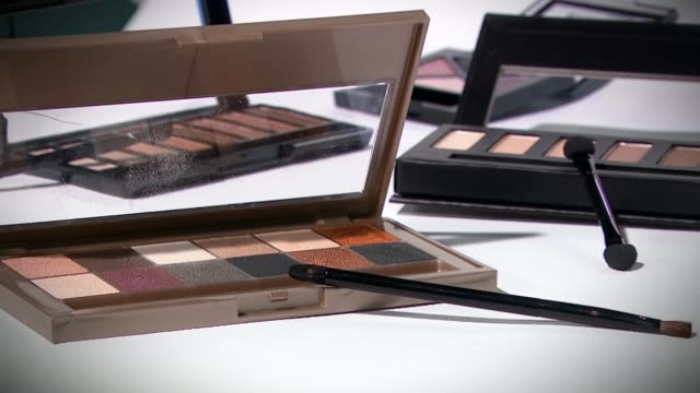 calls for ethical sourcing of mica products in cosmetics industry calls for ethical sourcing of mica products in cosmetics industry england london... - schist stock videos and b-roll footage