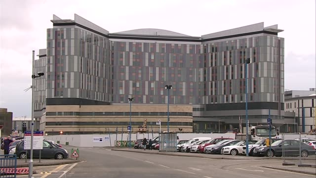 calls to ban boxing following death of scottish boxer mike towell ext hospital building 'the queen elizabeth university hospital and the royal... - wall of death stock videos & royalty-free footage