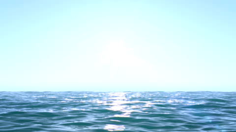 calm ocean blue morning - water surface stock videos & royalty-free footage