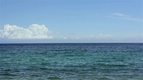 calm sea surface - horizon over water stock videos & royalty-free footage