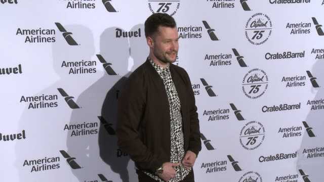 Calum Scott at Capitol Records Celebrates 75th Anniversary With Hollywood Gala on November 15 2016 in Hollywood California