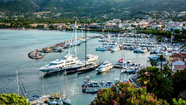 calvi marina - calvi stock videos and b-roll footage