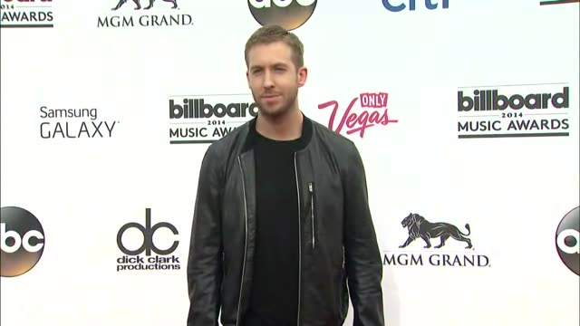 Calvin Harris at the 2014 Billboard Music Awards Arrivals at the MGM Grand Garden Arena on May 18 2014 in Las Vegas Nevada