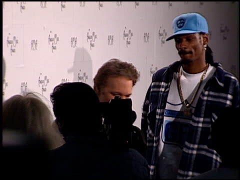 Calvin Snoop Dogg Broadus at the 1999 American Music Awards press room at the Shrine Auditorium in Los Angeles California on January 11 1999
