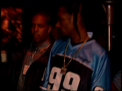 calvin snoop dogg broadus at the 1999 grammy awards arista party at the shrine auditorium in los angeles, california on february 24, 1999. - snoop dogg stock videos & royalty-free footage