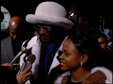 calvin snoop dogg broadus at the 'bones' premiere at house of blues in west hollywood, california on october 23, 2001. - snoop dogg stock videos & royalty-free footage