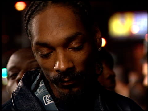 calvin snoop dogg broadus at the 'next friday' premiere at the cinerama dome at arclight cinemas in hollywood california on january 11 2000 - friday stock videos & royalty-free footage