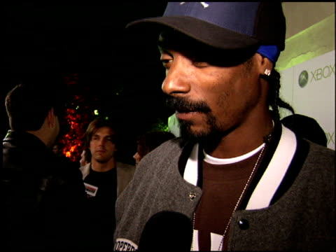 calvin snoop dogg broadus at the xbox 360 launch party on november 16 2005 - xbox stock videos & royalty-free footage