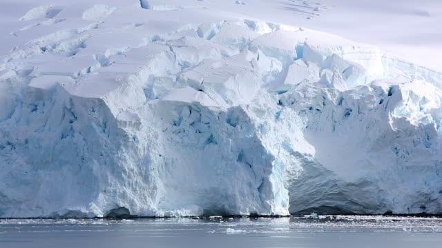 Calving face of a Glacier