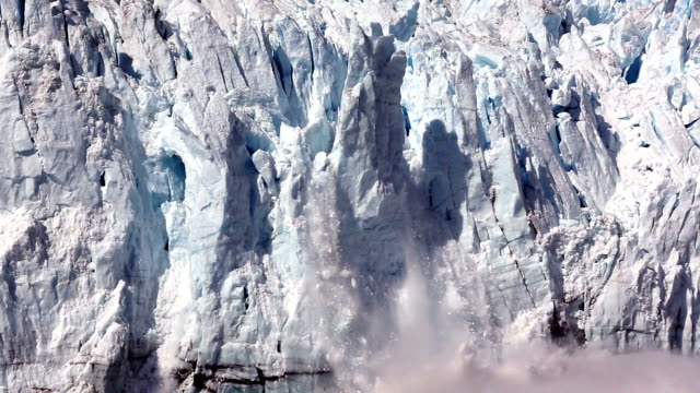 calving glaciers - moving down stock videos & royalty-free footage