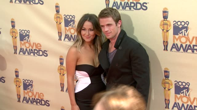 cam gigandet at the 18th annual mtv movie awards at universal city ca - universal city video stock e b–roll