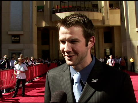 vidéos et rushes de cam ward on the event his first red carpet on what makes a great athlete at the 2006 espy awards arrivals at the kodak theatre in hollywood... - espy awards