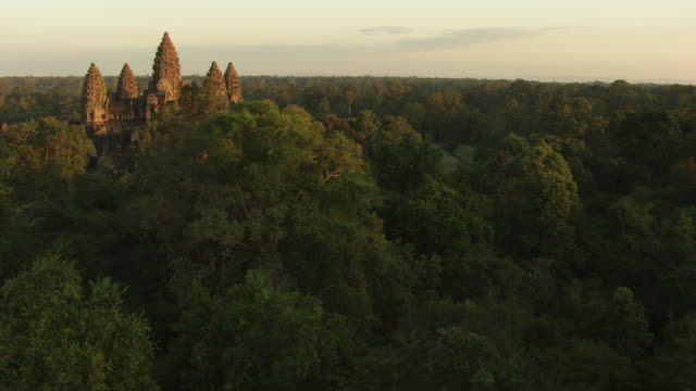 cambodia: angkor wat temple - cambodia stock videos and b-roll footage