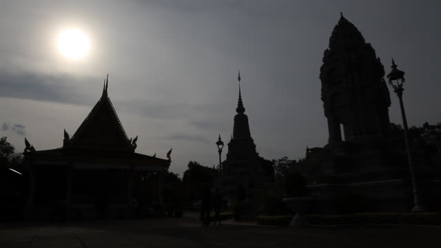 cambodia phnom penh - cambodian culture stock videos and b-roll footage