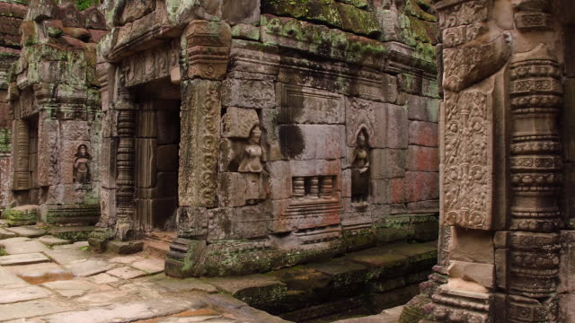 cambodian ancient ruin - ancient civilization stock videos & royalty-free footage