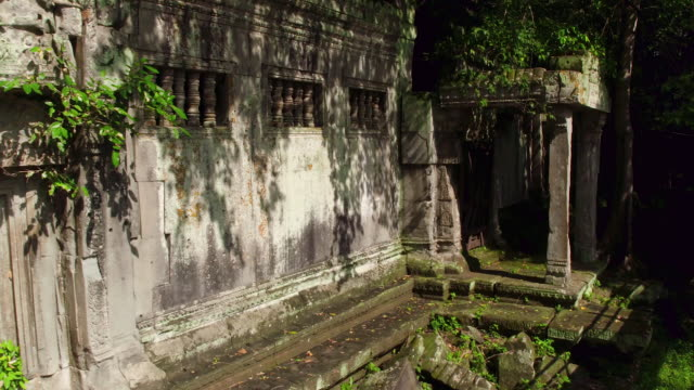 cambodian ancient ruin - cambodia stock videos and b-roll footage