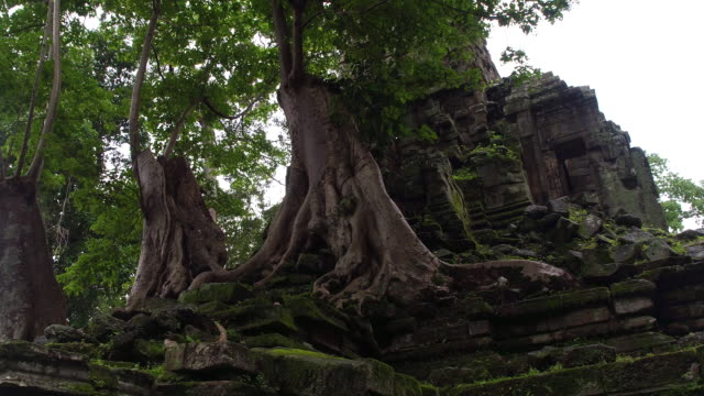 cambodian ancient ruins - old ruin stock videos and b-roll footage