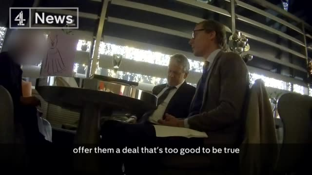 Cambridge Analytica undercover investigation Tactics used to smear political opponents ENGLAND London Mark Turnbull and Alexander Nix sat at...