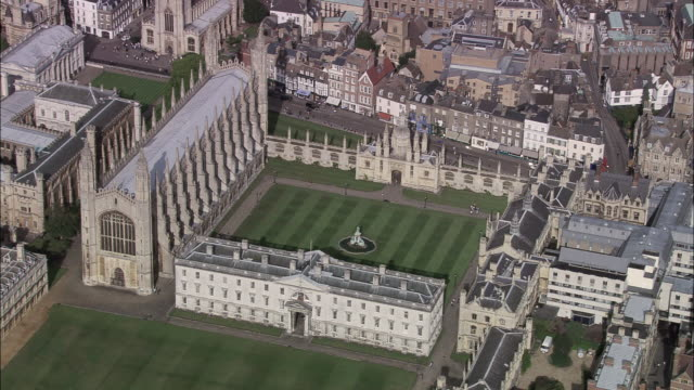 cambridge kings college chapel - trinity college cambridge university stock videos & royalty-free footage