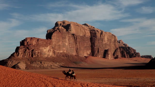 camels, bedouin, wadi rum, valley of the moon - camel stock videos & royalty-free footage