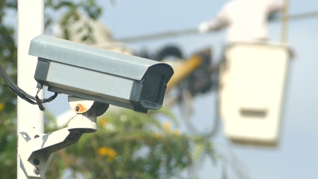 cctv camer (service) - installing stock videos and b-roll footage