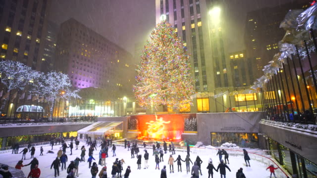 Camera Rockefeller Center : Rockefeller center videos und b roll filmmaterial getty images