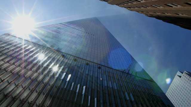 PAN TD Camera captures the Sun and reflection at North side of Freedom Tower.