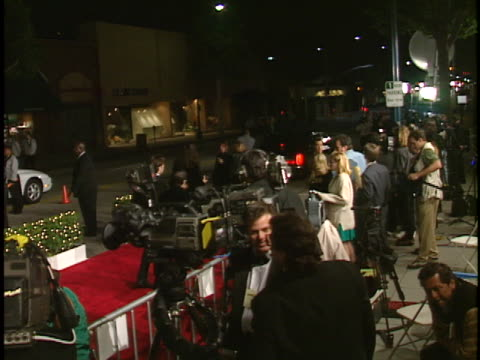 Camera Crews at the Academy Awards 98 Titanic Party at New Chasens Beverly Hills in Beverly Hills CA