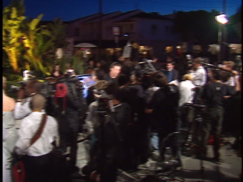 Camera Crews at the Academy Awards 98 Vanity Fair Party at Mortons West Hollywood in West Hollywood CA