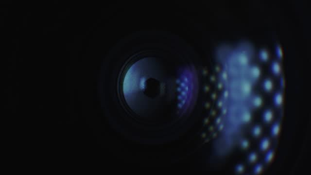 Camera Lens Changing Aperture
