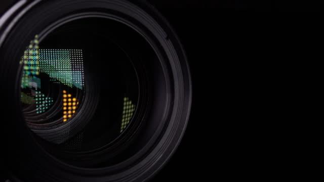 Camera Lens Focusing in 4k video