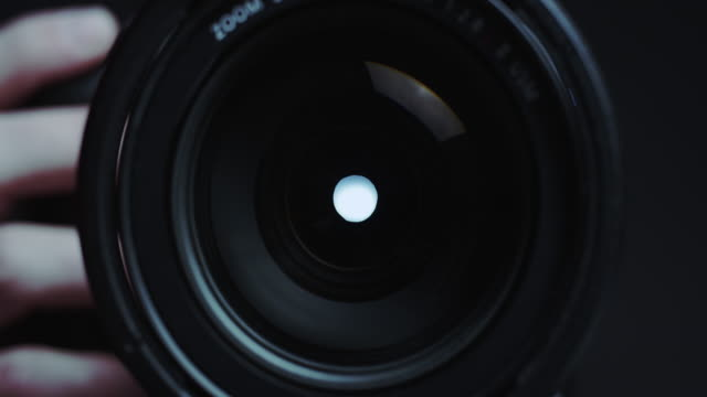 camera lens shutter taking photos - photo shoot stock videos & royalty-free footage