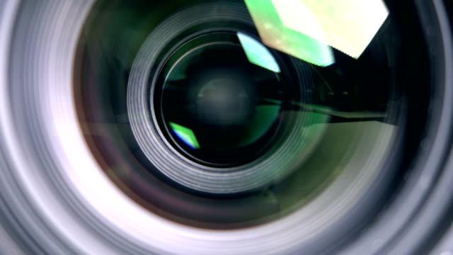 カメラ レンズ、撮影 - レンズ点の映像素材/bロール
