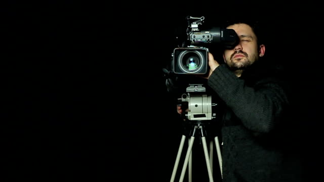 camera operator - aiming stock videos and b-roll footage