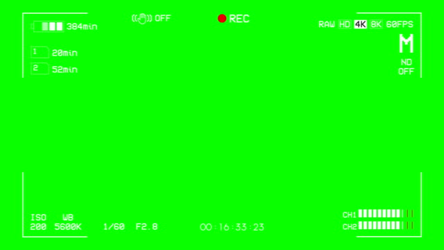 camera recording screen green box overlay alpha channel - multi layered effect stock videos & royalty-free footage