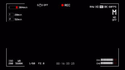 vídeos y material grabado en eventos de stock de cámara de grabación de pantalla superposición alfa canal - film camera