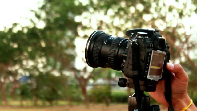 vidéos et rushes de dslr caméra - ouverture du diaphragme