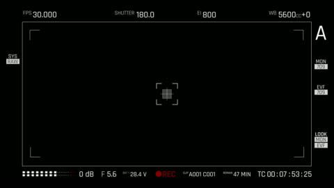 vídeos y material grabado en eventos de stock de visor de la cámara | 4k - film camera