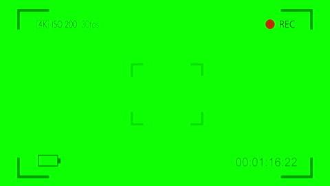 vídeos y material grabado en eventos de stock de mostrar la superposición digital de visor de cámara en pantalla verde - film camera