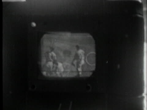 cameramen record all the events of the 1947 world series opener. - broadcasting stock videos & royalty-free footage