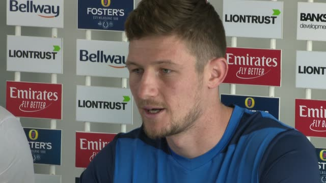 cameron bancroft appointed durham county captain; england: county durham: riverside ground : low angle shot press conference cameron bancroft press... - oval kennington stock videos & royalty-free footage