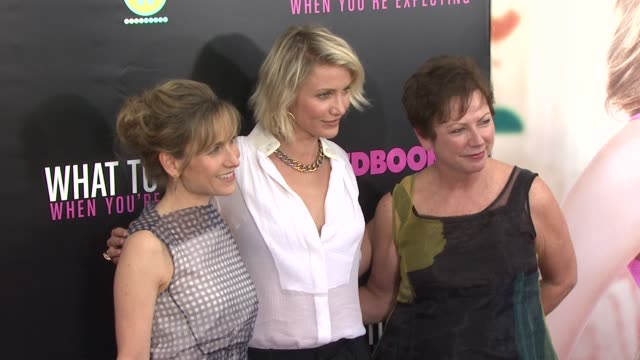 Cameron Diaz and guests at 'What To Expect When You're Expecting' New York Premiere at AMC Lincoln Square Theater on May 08 2012 in New York New York