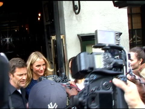 Cameron Diaz at Le Colonial at the Celebrity Sightings in New York at New York NY