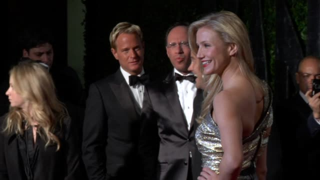 cameron diaz at the 2010 vanity fair oscar party hosted by graydon carter at west hollywood ca - cameron diaz stock videos & royalty-free footage