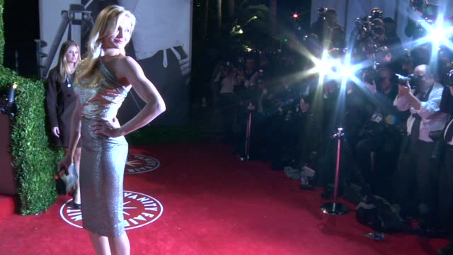 cameron diaz at the 2010 vanity fair oscar party hosted by graydon carter at west hollywood ca. - vanity fair oscar party stock videos & royalty-free footage