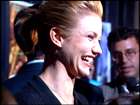 Cameron Diaz at the 'Feeling Minnesota' Premiere at Grauman's Chinese Theatre in Hollywood California on September 10 1996