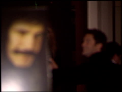 cameron diaz at the 'gangs of new york' premiere at dga in los angeles, california on december 17, 2002. - ギャング・オブ・ニューヨーク点の映像素材/bロール